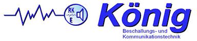Rainer König Beschallungs- und Kommunikationstechnik - Logo